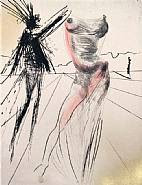 Salvador Dalí - The Bust: : From the Faust Suite (Prints)