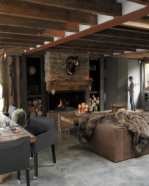Modern Rustic Interior Design