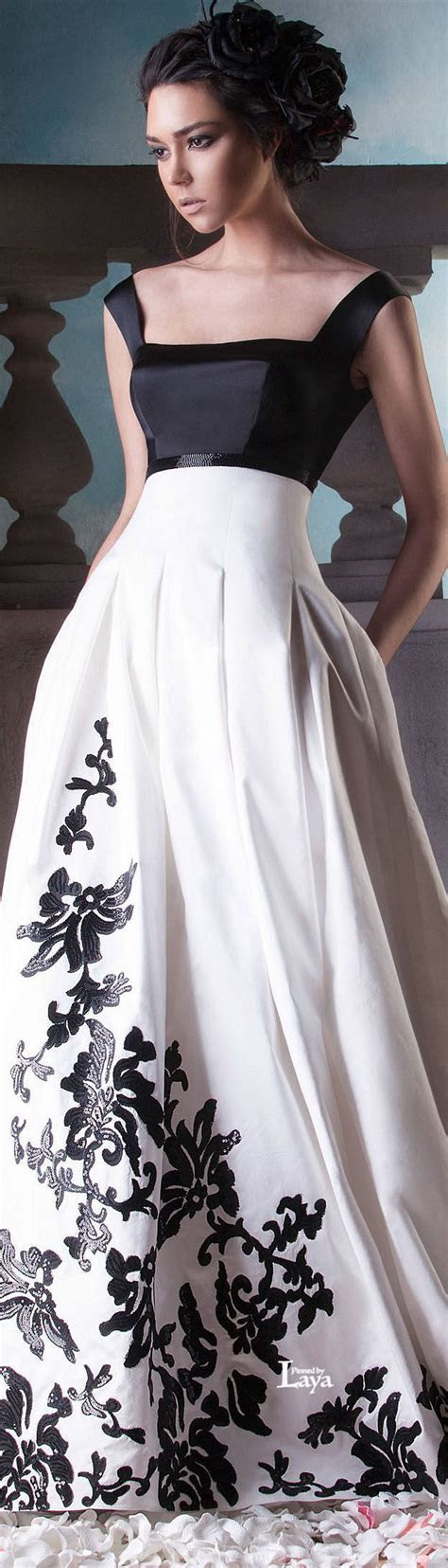 Black And White Evening Dress   You can find this at