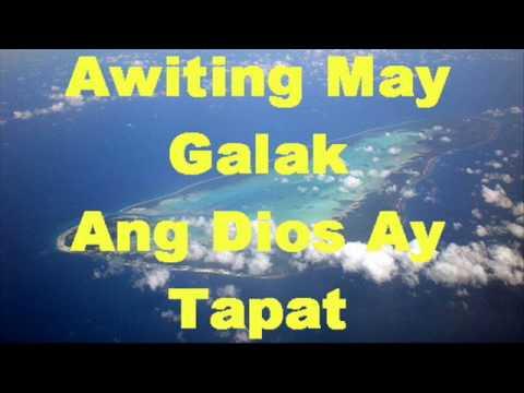 Awiting May Galak/Ang Diyos Ay Tapat - Faithmusic Manila Chords and Lyrics