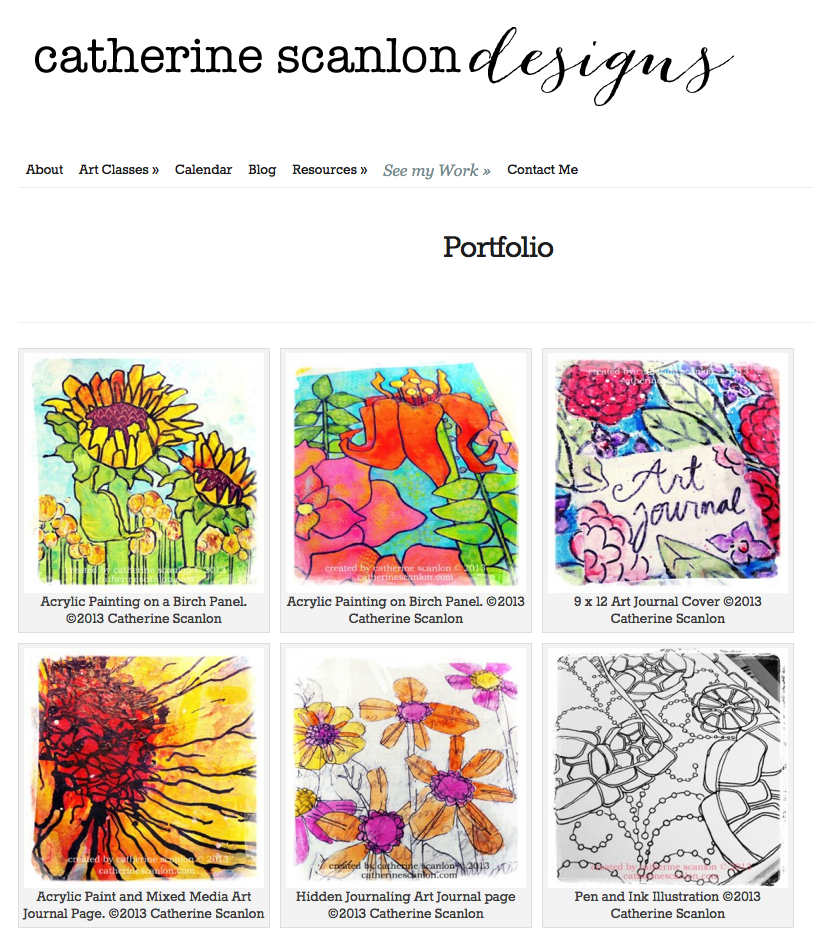 Catherine Scanlon Designs Gallery Page