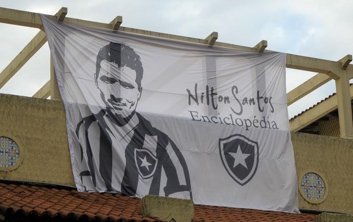 General Severiano Nilton Santos Botafogo (Foto: Vicente Seda)