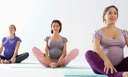 yoga  pregnancy yoga poses