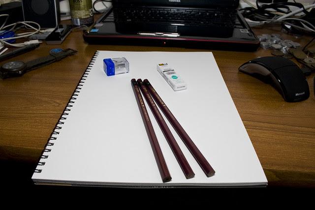 new sketch book