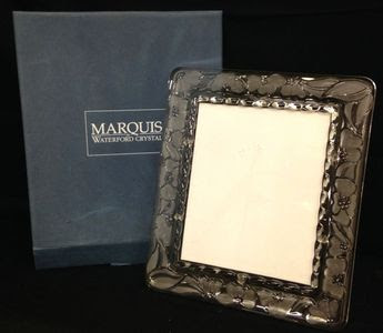 Lot 023 Marquis Waterford Frame 8x10 With Box Online Auction By