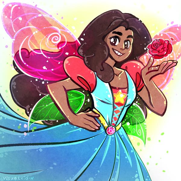 Gems as fairies: Stevonnie Another Fairy-gems: