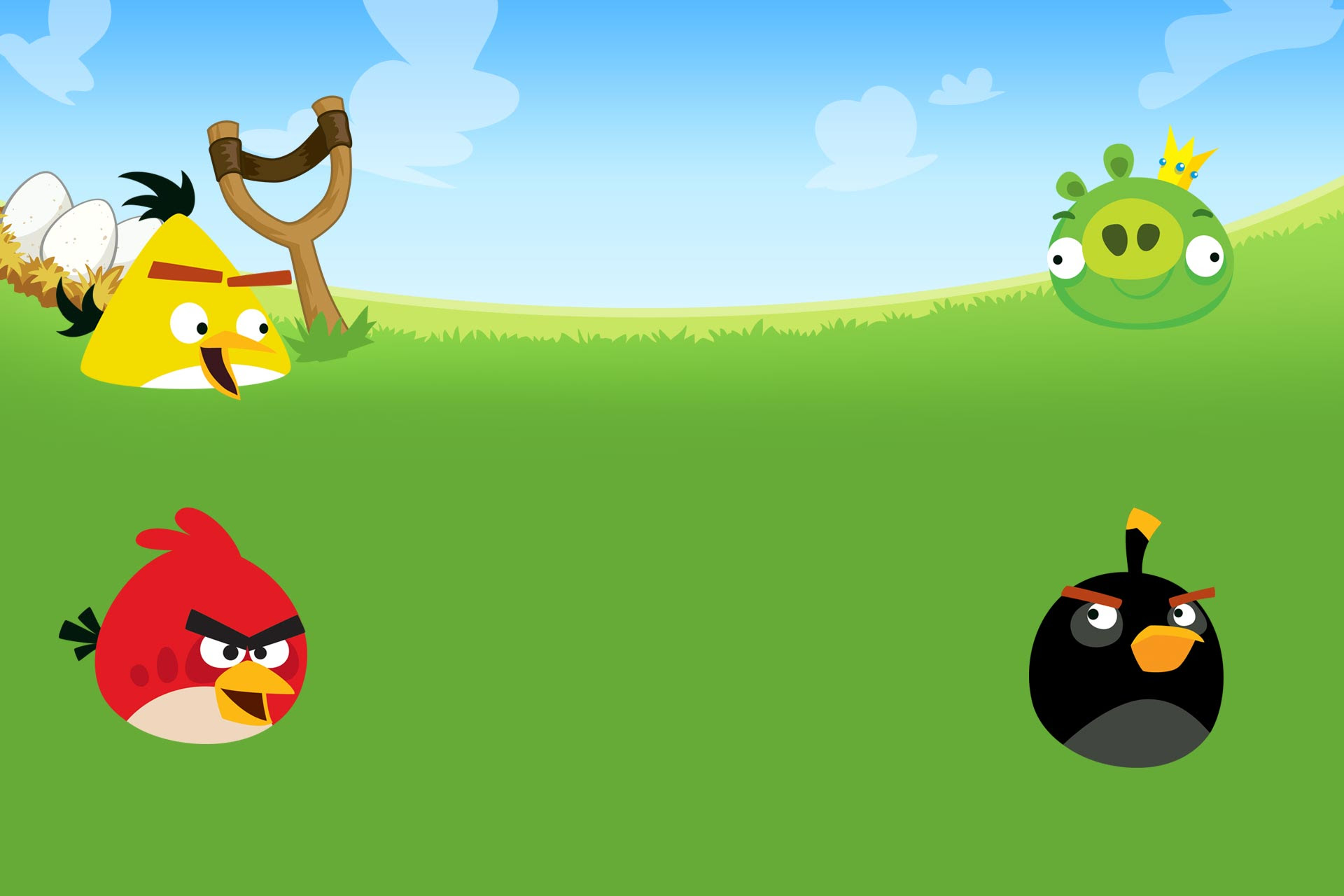 Angry Bird Background Sf Wallpaper