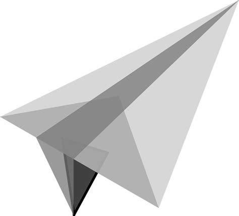 gambar vektor gratis pesawat terbang kertas kecil