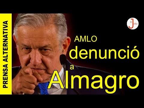 Luis Almagro al descubierto! México le recuerda su actuación en el caso ...