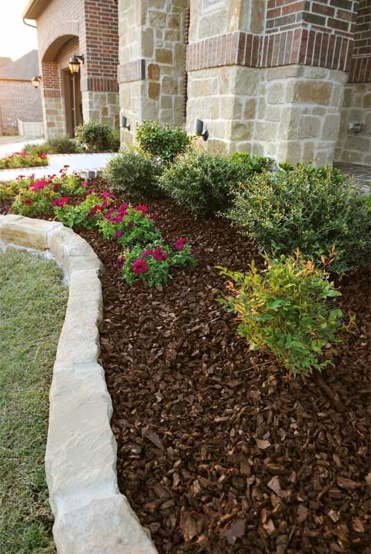 Landscaping Rubber Mulch - LEED Credits for Landscape Mulching