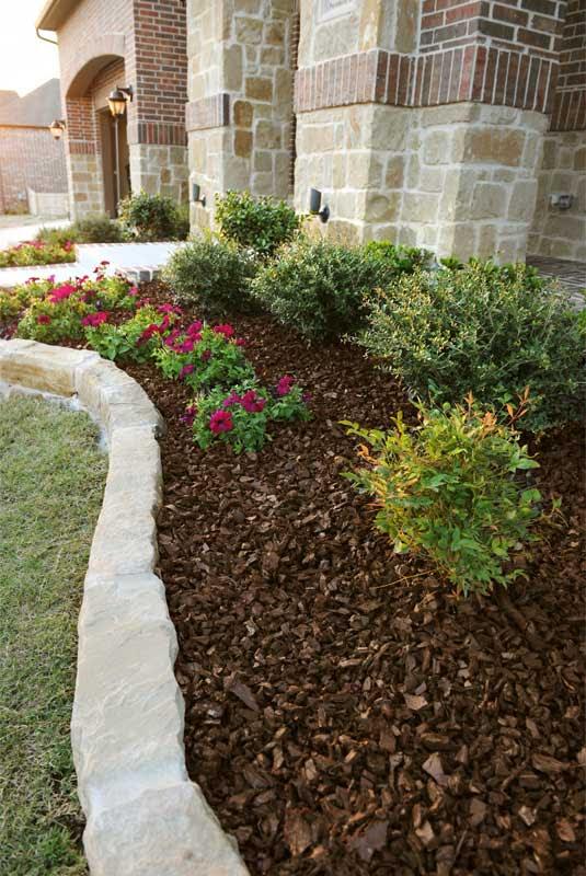 Red Rubber Mulch - GroundSmart Rubber Mulch