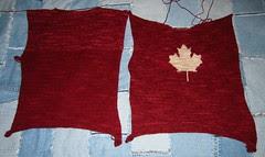 Canada Sweater Progress
