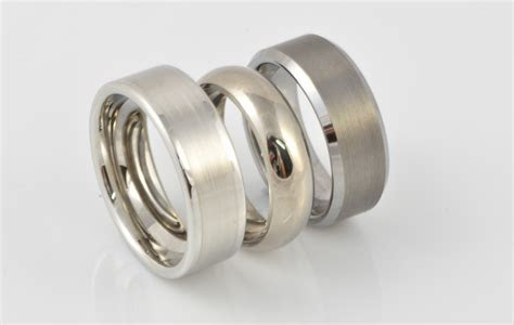 Beautiful Mens Wedding Ring Metals Comparison   Matvuk.Com