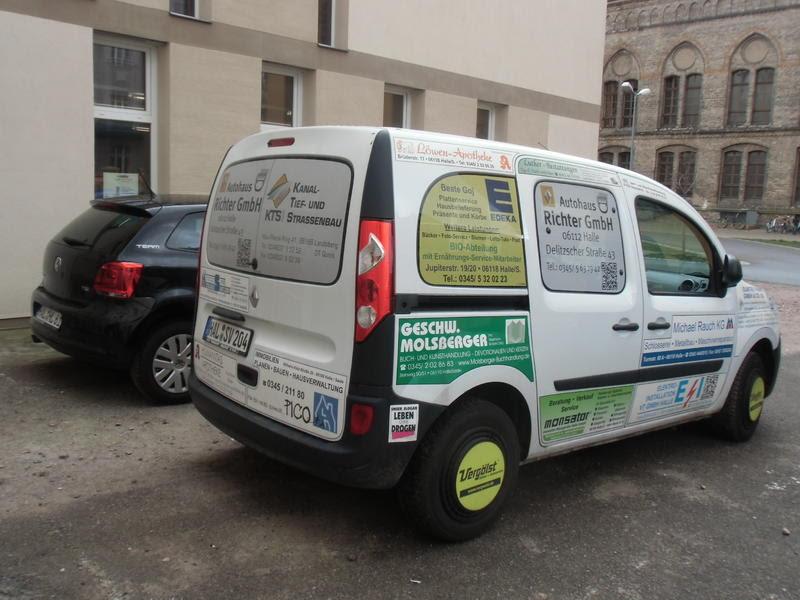 Werbung auf städtischen Autos - HalleSpektrum.de ...