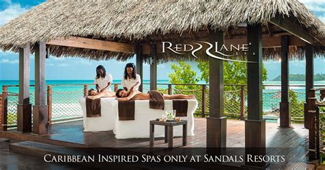 Red Lane Caribbean Day Spa at Our Luxury Resorts   Sandals