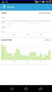 20131021_RunKeeper(Running)charts