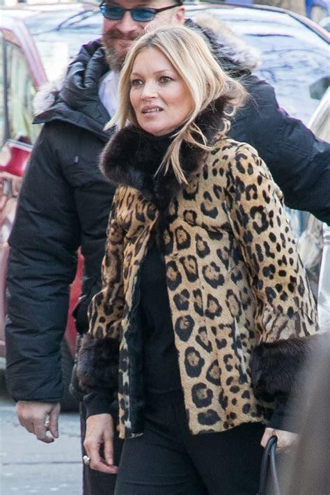 kate moss  paris fashion week february  popsugar