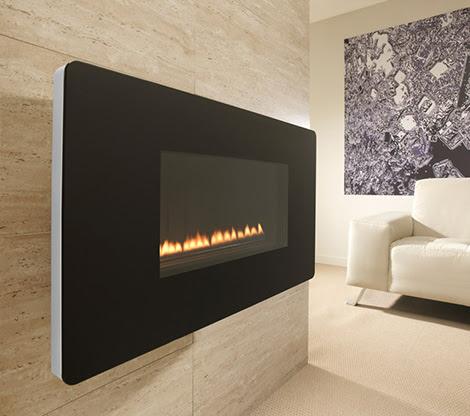 Calefactores elegantes superior fires blogydeco - Chimeneas gas natural ...