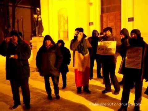 [VIDEO] A început a patra săptămână de proteste la Suceava
