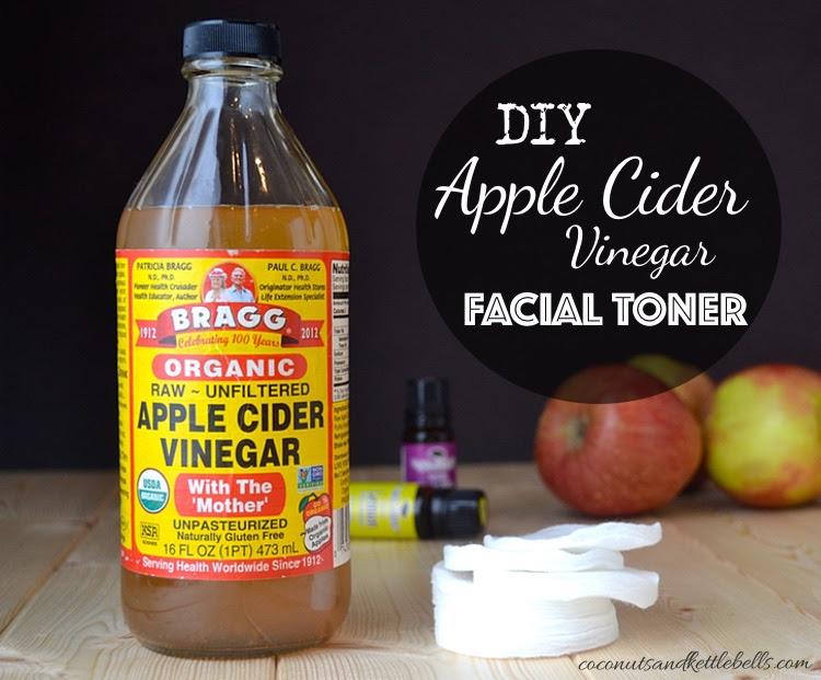 Diy Apple Cider Vinegar Facial Toner Coconuts Kettlebells