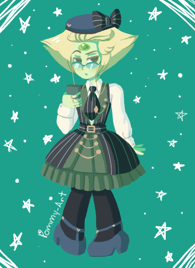 Have a triangular fancy nerd (Dress reference(s) here!)