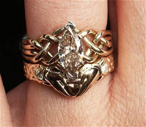 212 best images about PUZZLE RINGS on Pinterest