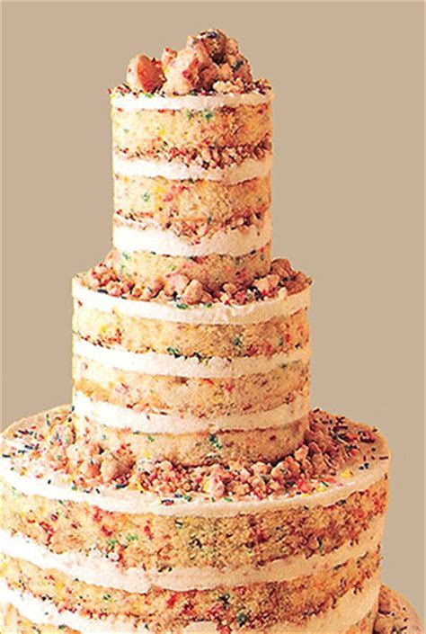 Naked Wedding Cakes Becoming Popular   Heritage Garment