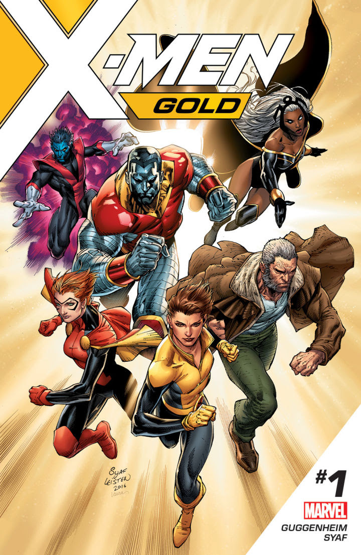 X-Men Gold teaser by Ardian Syaf. (Marvel Comics)