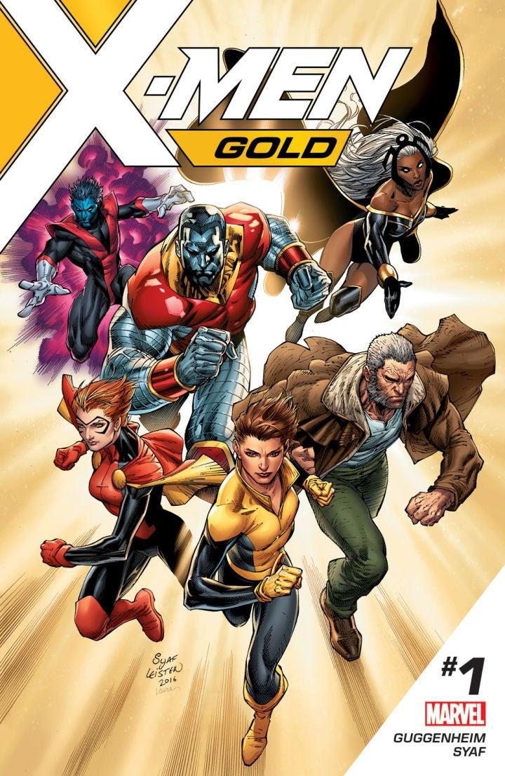 X-Men Gold teaser by Ardian Syaf. (Marvel Comics)