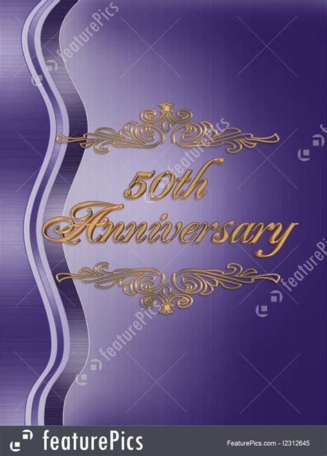 Templates: 50Th Anniversary Abstract Background   Stock