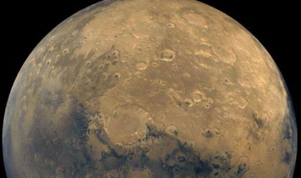 Mars crab NASA
