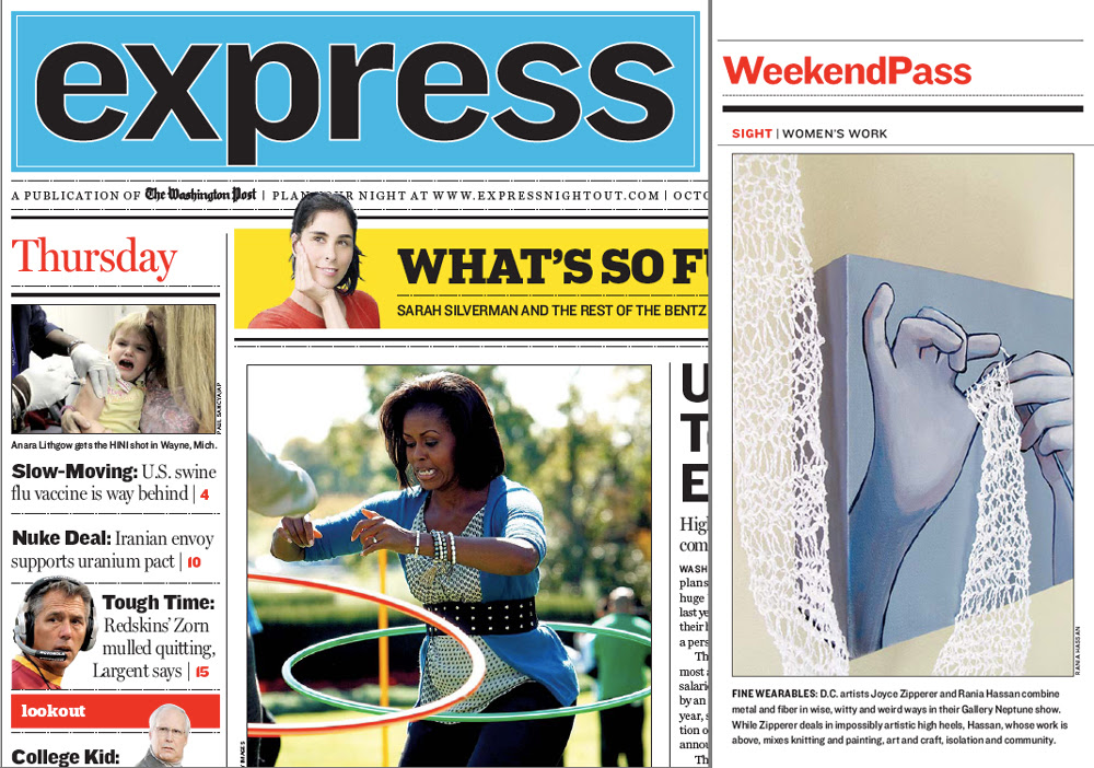 Washington Post Express Feature