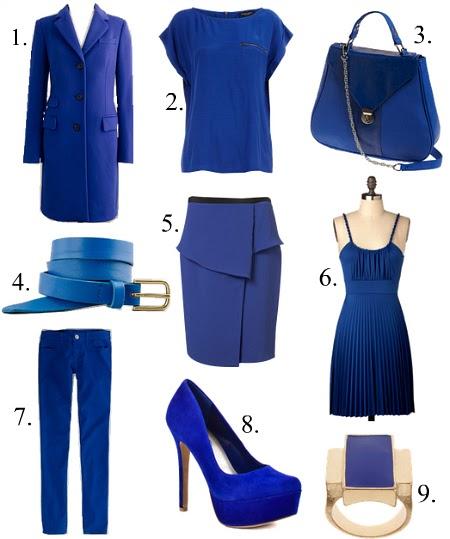 Fashion Smashion Hot Hue Cobalt Blue