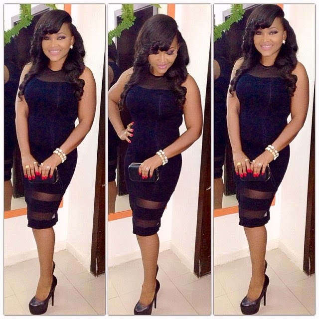 SEE Mercy Aigbe's Exquisite Black Dress To The Eko Nite Awards By Asiwaju Bola Ahmed Tinubu (PHOTOS). @mercyaigbe01 @MercyAigbefans via @NAIJAMUSICCITY