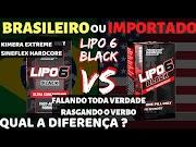 Lipo6 Black Brasileiro ou Importado : Qual Diferença ? Sineflex Hardcore ou Kimera Extreme é melhor?