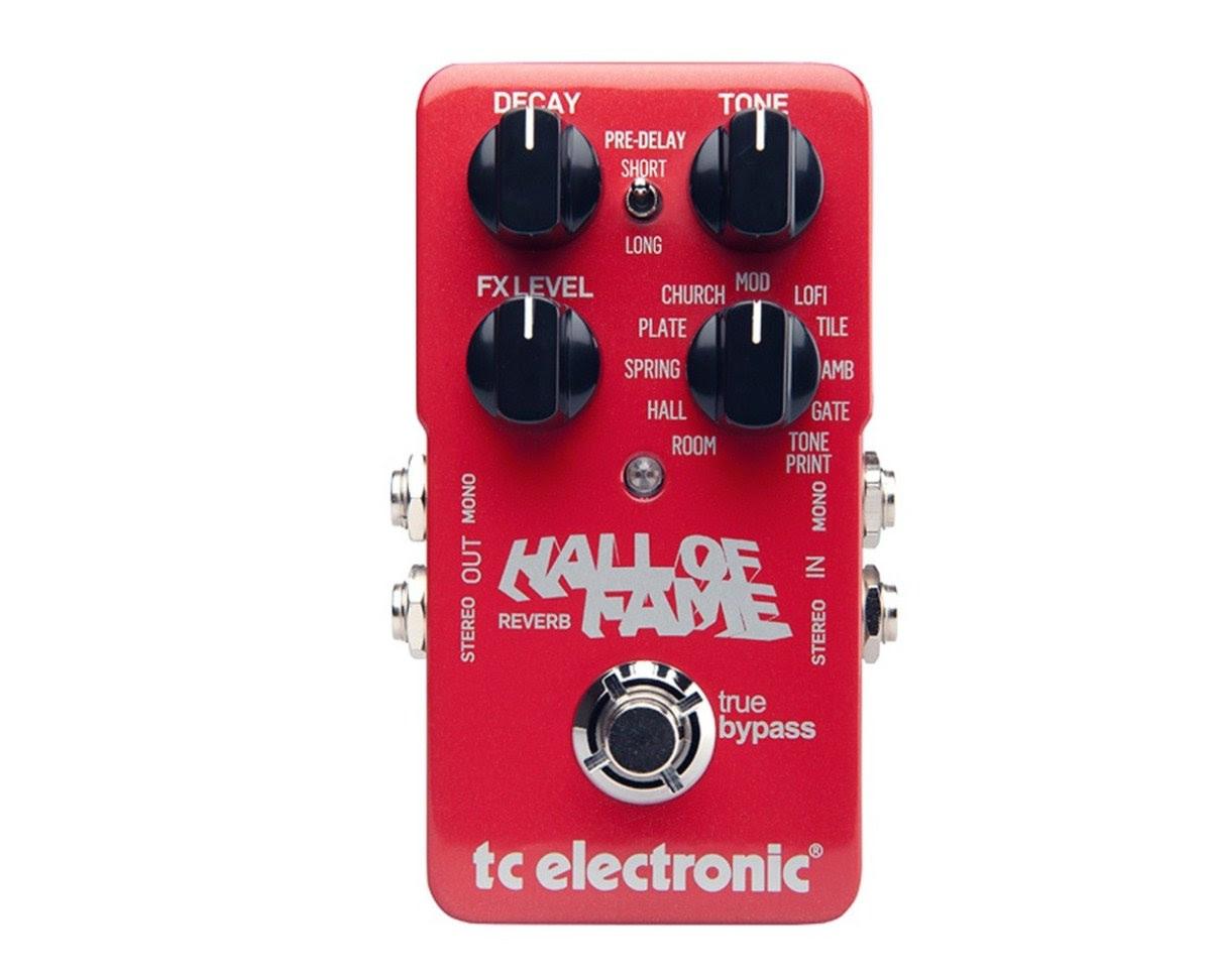 TC Electronics Hall of Fame Reverb pedal