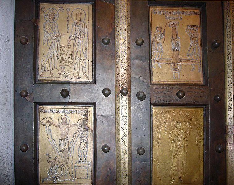 File:Q10 s Paolo porta bizantina particolare 1000783.JPG