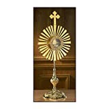 Large Cross Monstrance with Luna