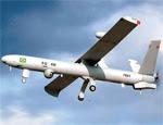 Modelo de avião não tripulado que será usado para fotografar plantações na Bolívia (Efe)