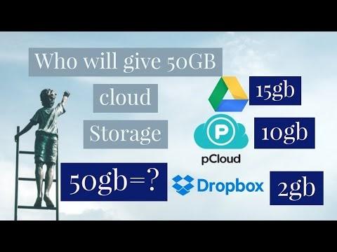 Free 50 GB cloud storage