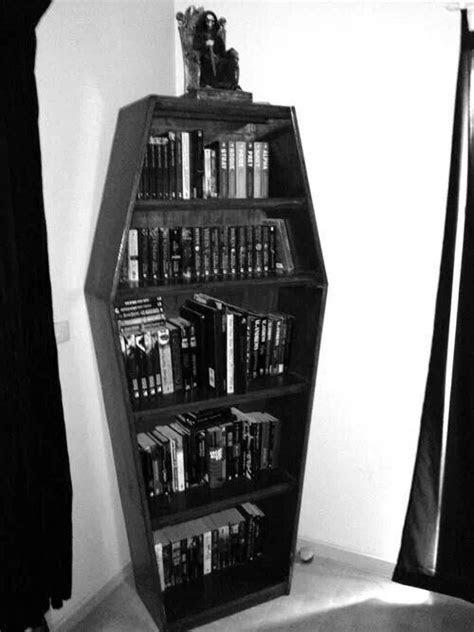 Coffin shelf | Goth home decor, Horror decor, Gothic bedroom