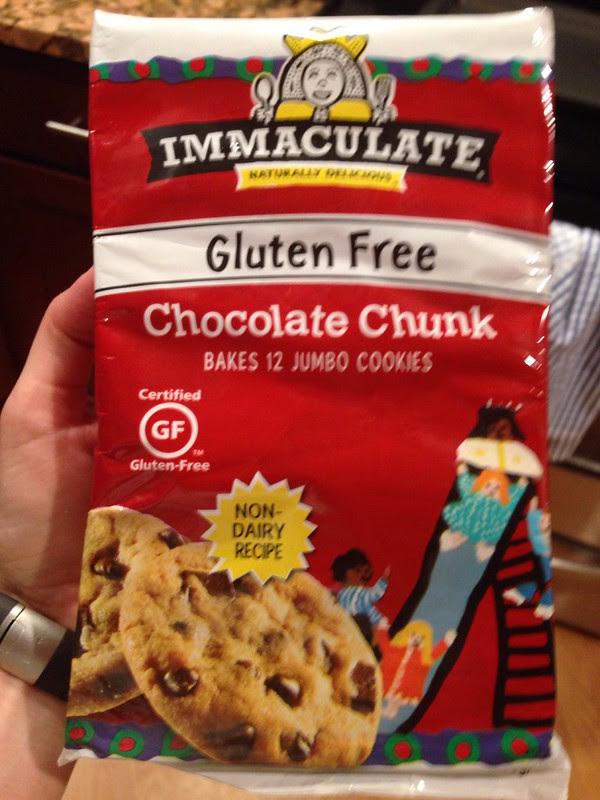 immaculate chocolate chunk gluten free cookies