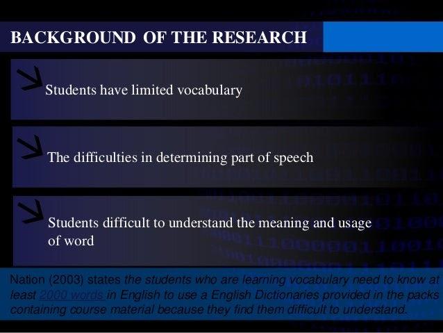 Contoh Power Point Skripsi Bahasa Inggris Kumpulan Berbagai Skripsi