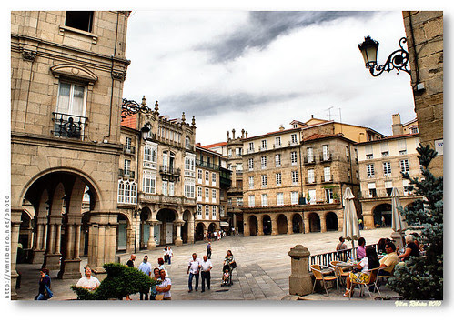 Plaza Mayor de Ourense by VRfoto