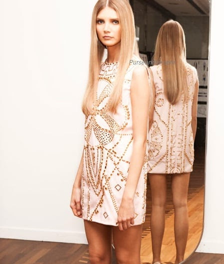 h&m capsule collection versace short dress