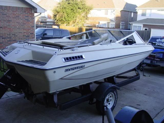 FriscoBoaters's 1981 Glastron SX 190 transom Replacement and