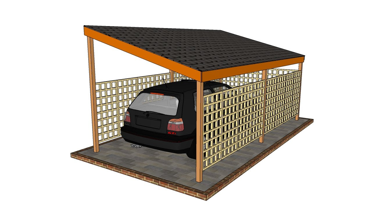 Wooden carport plans | HowToSpecialist - How to Build, Step by ...