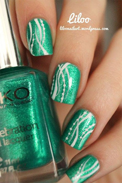 Green Nail Art Designs & Ideas 2013/ 2014 | Fabulous Nail ...