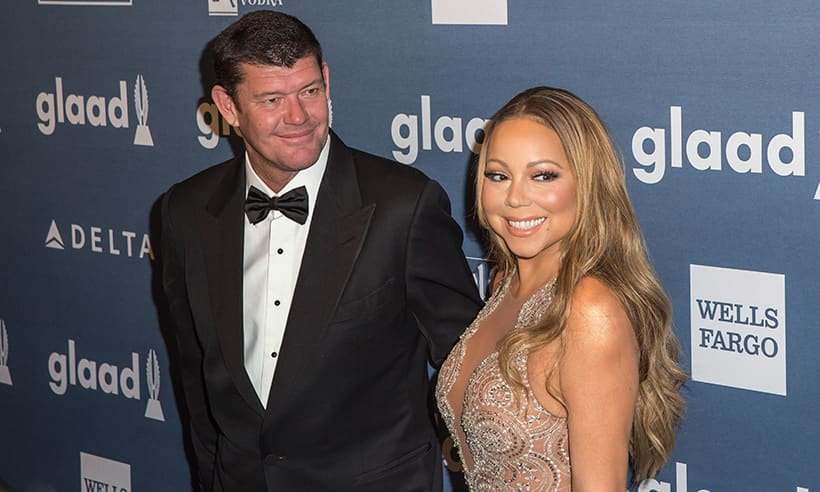 Image result for Mariah Carey breaks silence on split with James Packer -