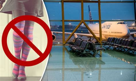 United Airlines passengers BANNED from boarding flight for